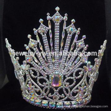 Nuevo estilo de la boda de gran corona de la perla banda para la novia