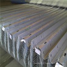 Hot DIP Galvanizado Revestido W Beam Highway Guardrail Detalhes
