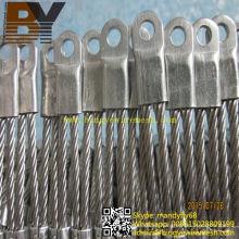 Flexible Stainless Steel Tiger Mesh Lion Netting