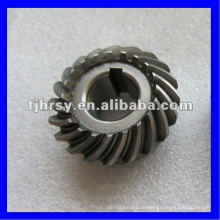 Spiralkegelrad C45 Stahl Naturfarbe