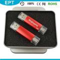 Barata colorido plástico batom em forma de flash drive USB OTG (tj004)
