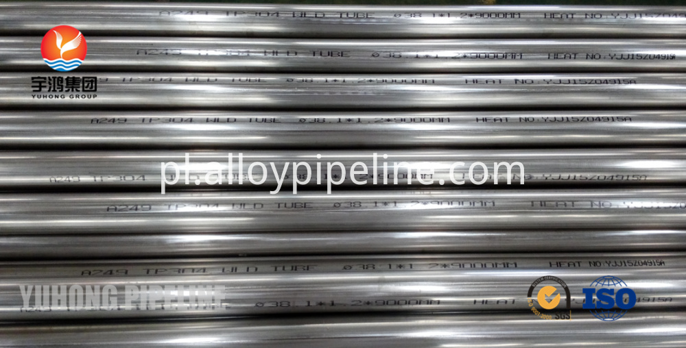 Bright Annealed Tube ASME SA249 TP304