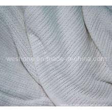 Cobertor de tecido 100% algodão macio