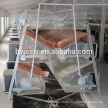 De Bonne Qualité Cages de lapin de fil à vendre empilable