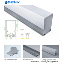 Großhandel Aluminium PC Profil für Linear LED Licht Bar (MB-L3-3561)