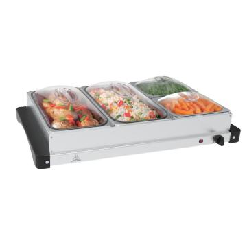 Réchauffeur de buffet à 4 sections