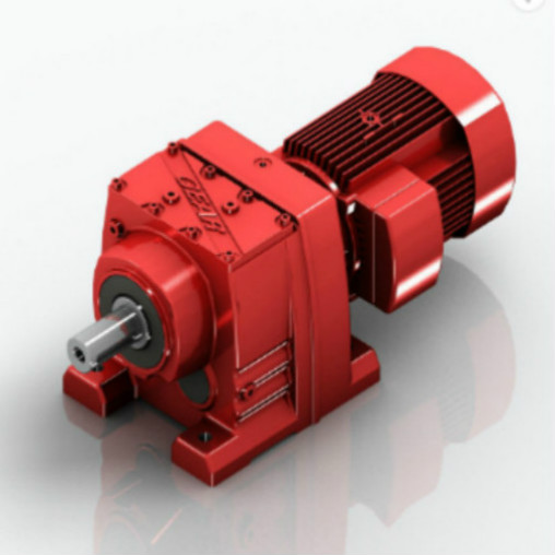 Helical Bevel Transmission Geared Gearbox Motor