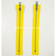 Special Design for for Metal Zip No. 3 Stainless Steel Zipper as Sab export to Italy Exporter