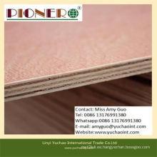 Grado de muebles Bintangor madera preacabada / madera contrachapada comercial precio