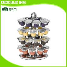 Nifty Home Products 40 Pod Carousel para cápsulas Nespresso