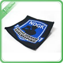Étiquettes tissées d'habillement de tissu de coutume