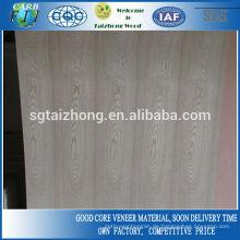 3mm natürliche Esche Tür Haut Sperrholz