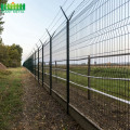 Keamanan Tinggi Airport Fence Razor Barbed Wires