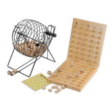 Wooden Lottery Game with Roller Box (CB2052)