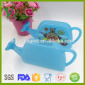 Wholesale HDPE empty customized cute plastic watering pot for kids usage