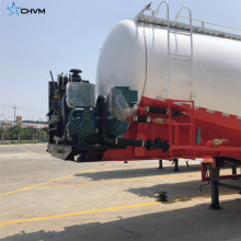 Remolque tanque de silo de cemento a granel seco