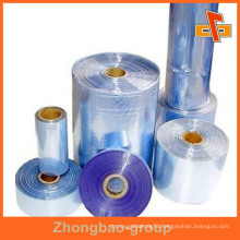 PVC Hot Shrink Film Rolling As Different Width And Weight