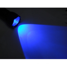Lampe de poche ultraviolette, lampe de poche LED bleue