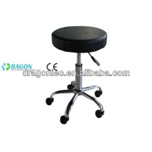 DW-MC204 adjustable nurse stool with wheels in hospital