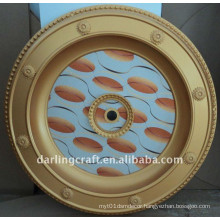 Comeplate Round Building Material Ceiling Medallion Factory Wholesale