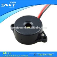 Som de lâmpada zumbador de torção DC com diâmetro 22mm 12v de zumbido ativo piezoeléctrico