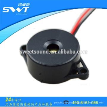 Lound sound DC zumbador piezo con diámetro 22mm 12v activa piezo zumbador