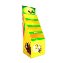 Corrugated Paper Pallet Floordisplay for Snacks and Food