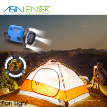 For Camping Hiking and Emergency BT-4902 Camping Light with Fan