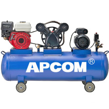 2.2kw 3kw 4kw 5.5kw Motor drive and petrol engine portable gasoline air compressor