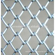 Valla de enlace de cadena / Valla de PVC de cadena Link Fence / Favoritos Comparar Valla de cadena de cruce caliente (fabricación)