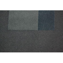 Grey Black Corduroy Fabric 65% Polyester 35% Nylon Blend Hj002