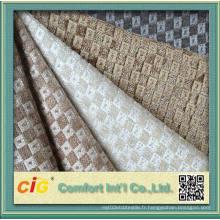 Tissu d'ameublement Jacquard en tissu de canapé de haute qualité