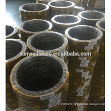 Gaskets spiral wound gasket 304 graphite filler carbon stell CS (SUNWELL)