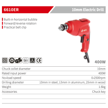 Electric Power Tools Rechargeable Cordless Impact Drill