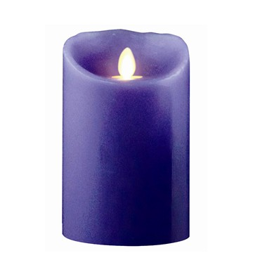 battery operated moving flame candle