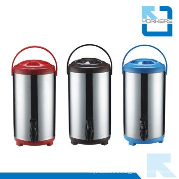 6L/8L/10L/12L Stainless Steel Milk Tea Barrels / Milk Bucket