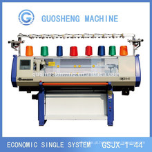 computadorizado de 52 polegadas flat-bed machine(GUOSHENG) de confecção de malhas