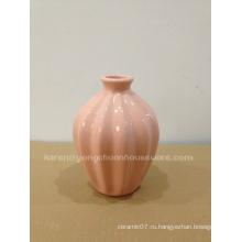Средняя овальная современная ваза