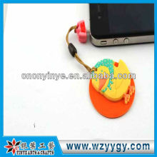 OEM cute pvc cleaner dust plug for promotion from factory