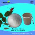 Poudre de citrate de bétaïne Cas 17671-50-0 de haute qualité
