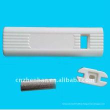 Componentes cego vertical-quadrado cortina peso do cabo com 45g de ferro para acessórios cego vertical, aperto de mão