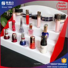 Acrílico para caixa de armazenamento de maquiagem de suporte para esmalte