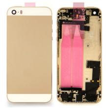 Para la cubierta posterior de la cubierta completa del iPhone 5s con el pequeño cable flexible de las piezas