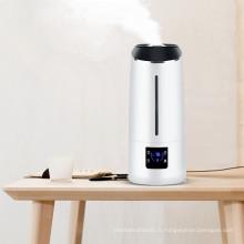 Prix usine bureau led lampe 6,5 L capacité numérique ultrasons frais Humidificateur d'air de brume avec purifier et minuterie