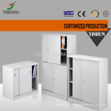 Short sliding door steel filing cabinet
