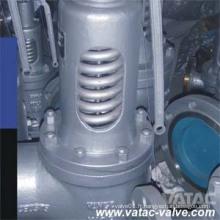 A351 CF8 / CF8m / Ss304 / Ss316 valve de décharge de sécurité pleine buse