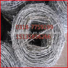 2.0 mm гальванизированная колючая проволока,колючей проволоки ,экспорт спирали колючей проволоки