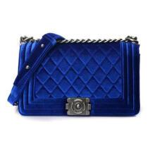 Metal Chain Velet Lady's Handbag Wzx23131