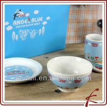Placa de cerámica y tazón TDS789-A247