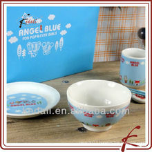 ceramic plate and bowl TDS789-A247